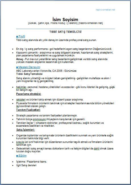 Tıbbi-Mümessil-Cv-Örneği-word